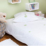 Double bed linen set INFINI (choice of colors)